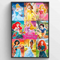 Disnet Fairies Collage Poster