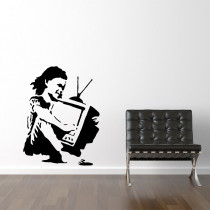 TV girl - Banksy
