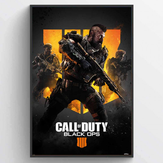 Call of Duty - Black Ops 4 (Trio) Poster väggdekor