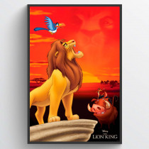 Lejon kungen King of Pride Rock Poster