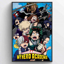 My Hero Academia (Cobalt Blast Group) Poster