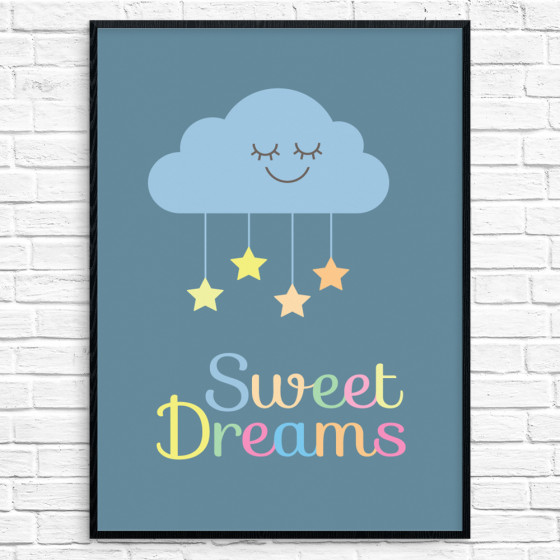 #2 Sweet Dreams Poster väggdekor