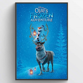Olaf's Frozen Adventure One Sheet Poster väggdekor