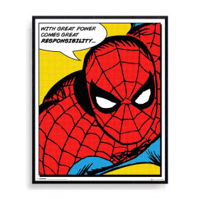 Spider-Man (Quote) Poster väggdekor