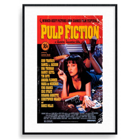 Pulp Fiction (Cover) Poster väggdekor