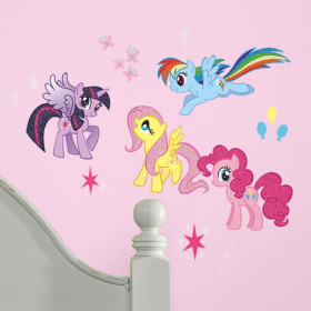 My Little Pony - paket #3 väggdekor