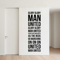 Glory glory Man. United!