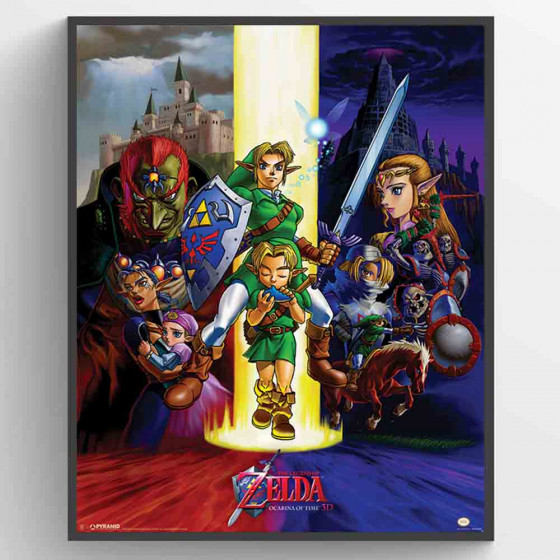 The Legend Of Zelda - Ocarina Of Time Poster väggdekor