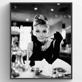 Audrey Hepburn, Breakfast at Tiffanys Poster väggdekor