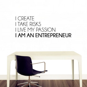 I am an entrepreneur! väggdekor