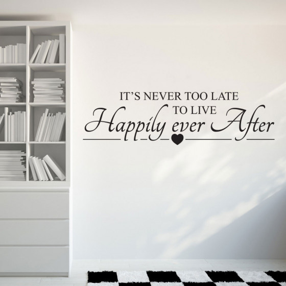 Happily ever after väggdekor