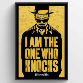Breaking Bad (I Am the One Who Knocks) Poster väggdekor