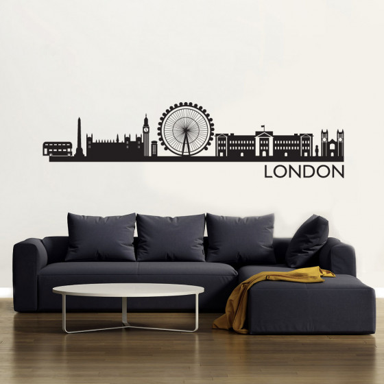 London Skyline Wallsticker väggdekor