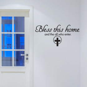 Bless this home väggdekor