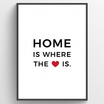 Home is where the heart is - poster