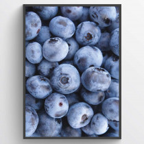 Blueberries - poster