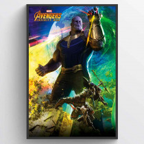 Avengers Infinity Wars Thanos Poster