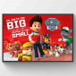 Paw Patrol No Pup Is Too Small Poster väggdekor