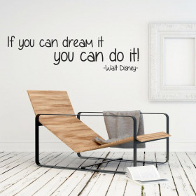 If you can dream it väggdekor
