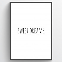 Sweet dreams - poster