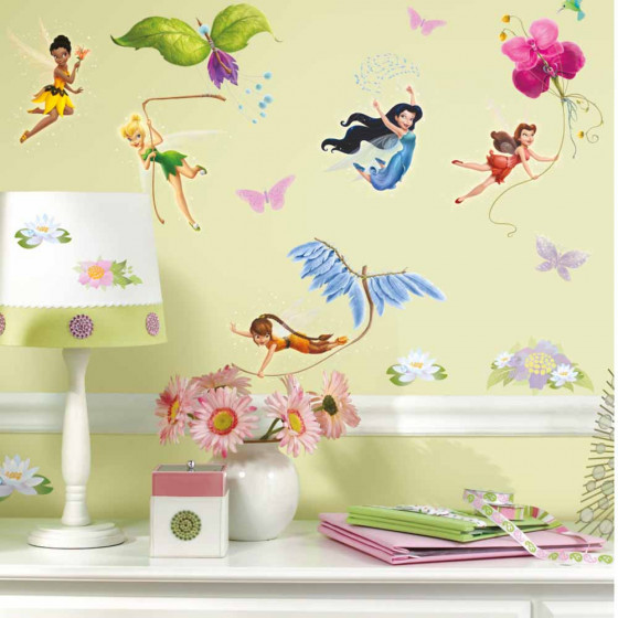 Disney Fairies - paket väggdekor