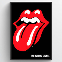 Rolling Stone Lips Poster