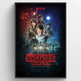 Stranger Things (One Sheet) Poster väggdekor