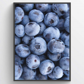 Blueberries - poster väggdekor