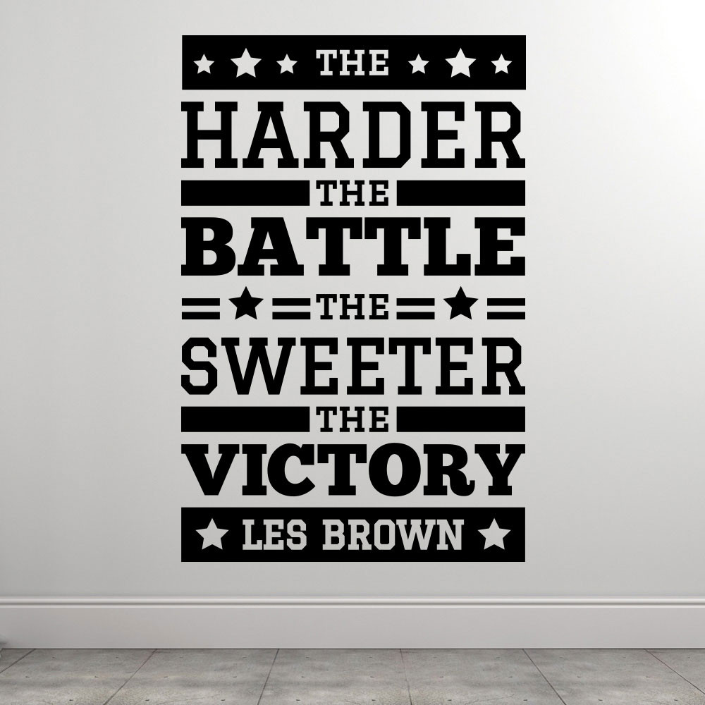 Sweet victory - Les Brown väggdekor