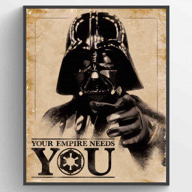 Star Wars Classic (Your Empire Needs You) Poster väggdekor