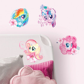 My Little Pony - watercolor paket väggdekor