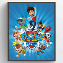 Paw Patrol Jump Poster