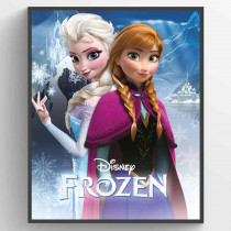 Frost - Anna and Elsa Poster