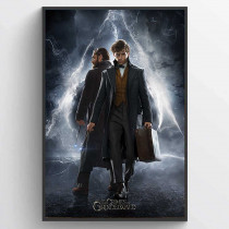 Fantastic Beasts The Crimes Of Grindelwald (Newt & Dumbledore) Poster