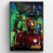 Avengers Infinity Wars Iron Man Poster