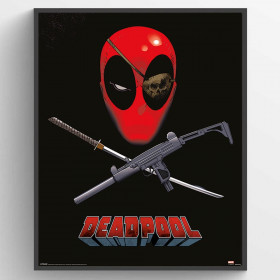 Deadpool (Eye Patch) Poster väggdekor