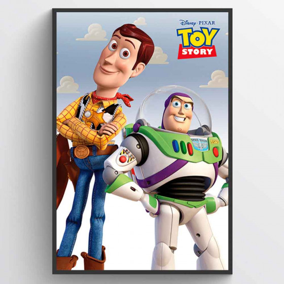 Toy Story Woody & Buzz Poster väggdekor