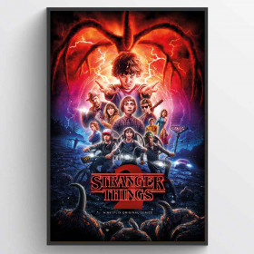Stranger Things (One-Sheet Season 2) Poster väggdekor