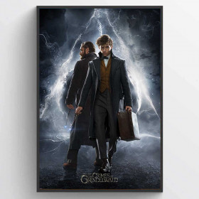 Fantastic Beasts The Crimes Of Grindelwald (Newt & Dumbledore) Poster väggdekor