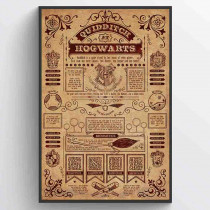 Harry Potter (Quidditch At Hogwarts) Poster