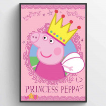 Peppa Pig (Princess Peppa) Poster