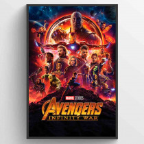Avengers Infinity Wars One Sheet Poster