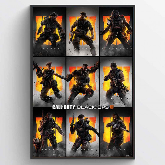 Call of Duty - Black Ops 4 (Characters) Poster väggdekor
