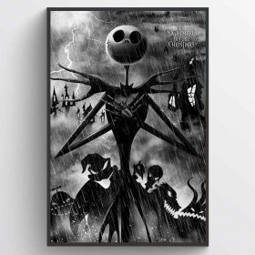 Nightmare Before Christmas (Storm) Poster väggdekor