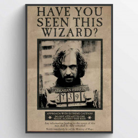 Harry Potter (Wanted Sirius Black) Poster väggdekor