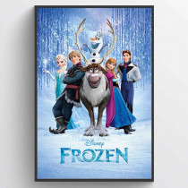 Frozen (Cast) Poster
