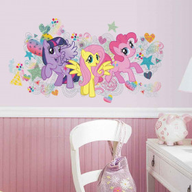 My Little Pony - paket #2 väggdekor