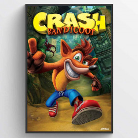 Crash Bandicoot (Next Gen Bandicoot) Poster väggdekor