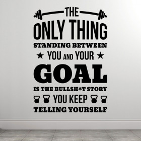 You And Your Goal väggdekor